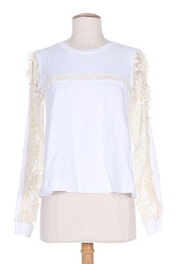 see by chloé t et shirts et tops femme de couleur blanc