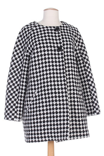 frenchtrotters manteaux femme de couleur noir