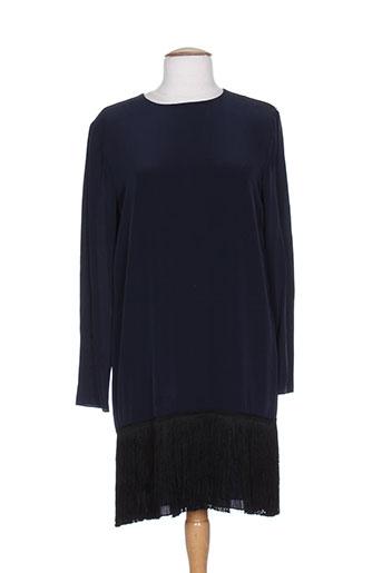 sportmax robes femme de couleur bleu