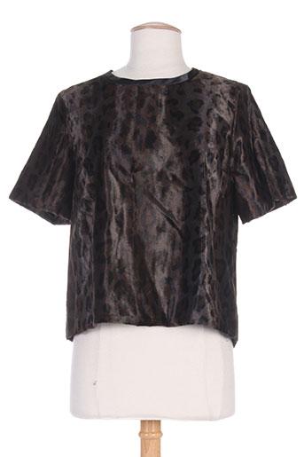 sportmax chemises femme de couleur marron