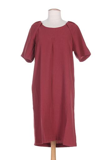 ichi robes femme de couleur rose