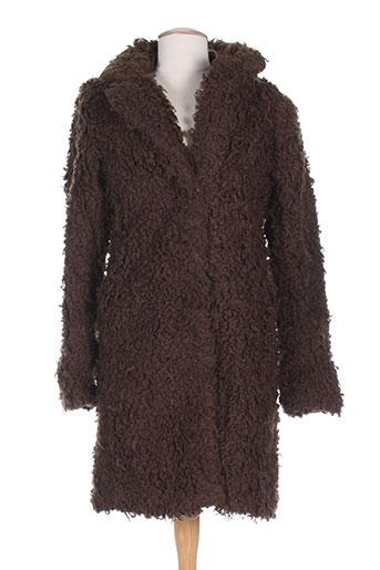 numph manteaux femme de couleur marron