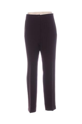 fedora pantalons femme de couleur violet