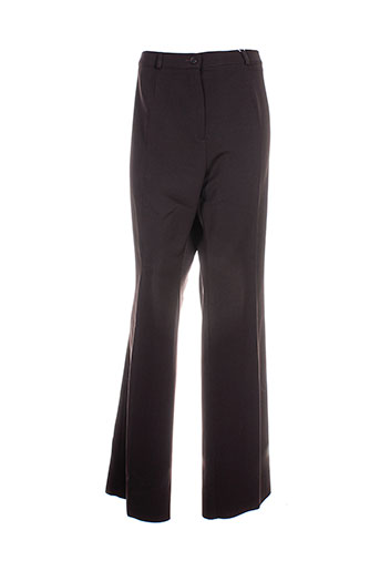 Pantalon casual marron CAROLINE ROHMER pour femme