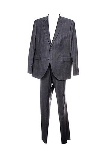 hackett pantalon et veste homme de couleur gris