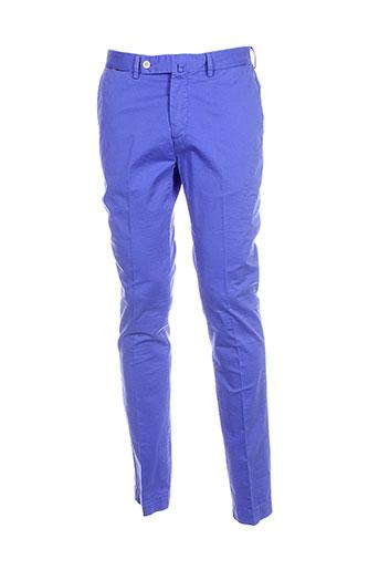 hackett pantalons et decontractes homme de couleur bleu