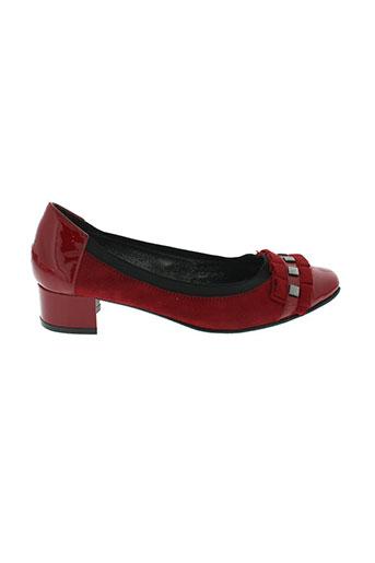 j.metayer chaussures femme de couleur rouge
