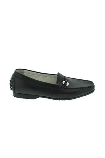 sioux chaussures femme de couleur noir