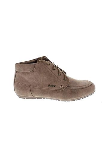 226 et shoes villes femme de couleur marron