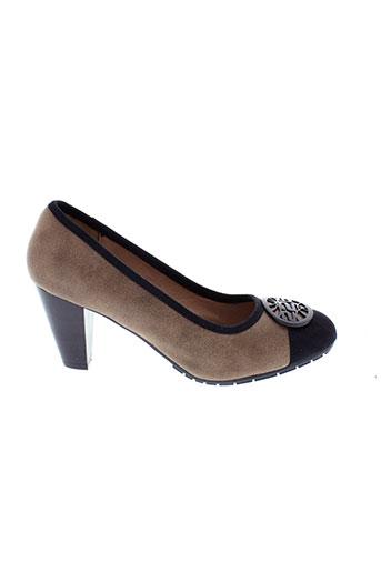 226 et shoes villes femme de couleur beige