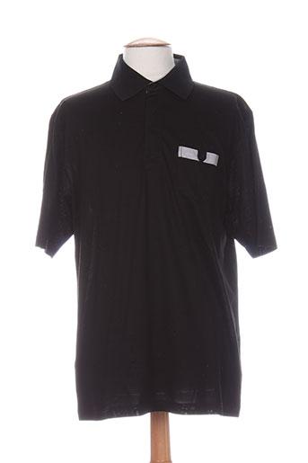 quadro t-shirts homme de couleur noir