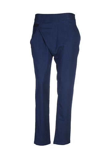 skunkfunk pantalons et citadins femme de couleur bleu