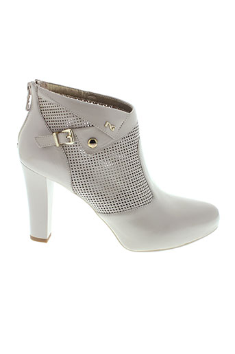 nero et giardini boots femme de couleur beige