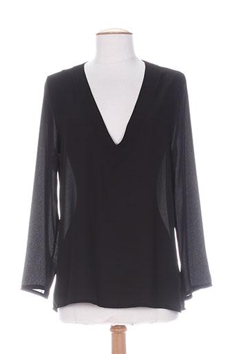 fifilles chemises femme de couleur noir