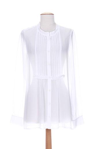 lauren et vidal tuniques femme de couleur blanc