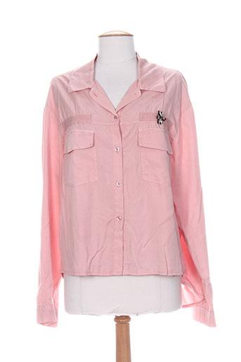 miss miss chemises femme de couleur rose
