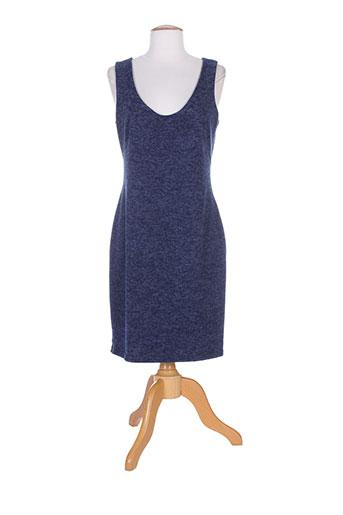 fifilles robes femme de couleur bleu