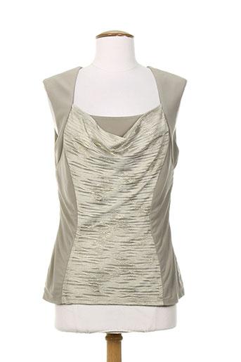 frank lyman chemises femme de couleur beige