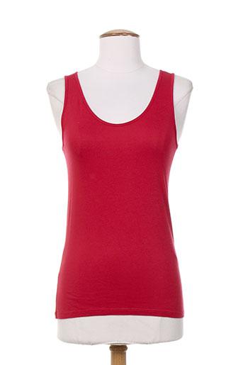 le petit baigneur chemises femme de couleur rouge