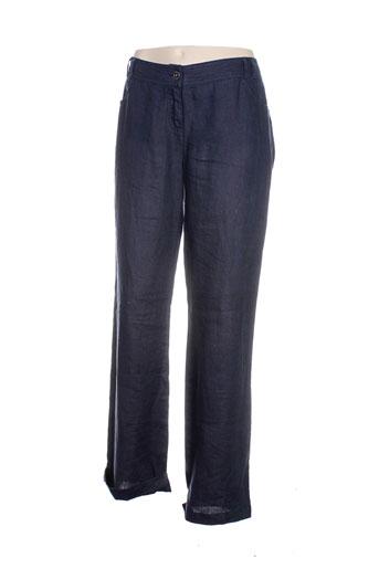 salt EFFI_CHAR_1 pepper pantalons femme de couleur bleu