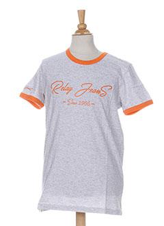 Produit-T-shirts-Garçon-RELAY JEANS