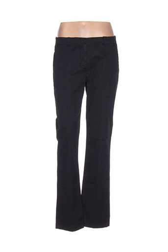 incotex pantalons femme de couleur noir