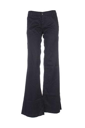 used jeans pantalons femme de couleur noir