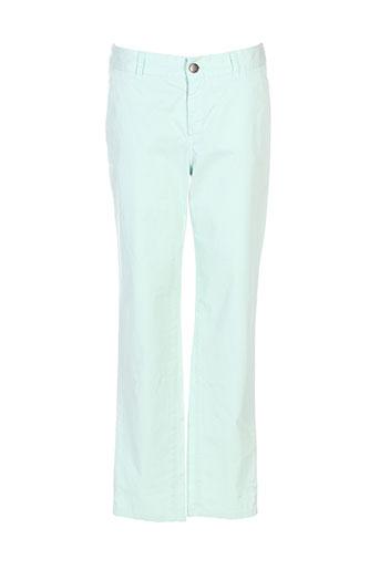 masscob pantalons femme de couleur vert