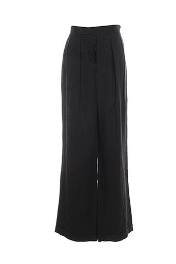 see by chloé pantalons femme de couleur noir