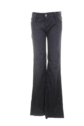 used jeans jeans femme de couleur gris