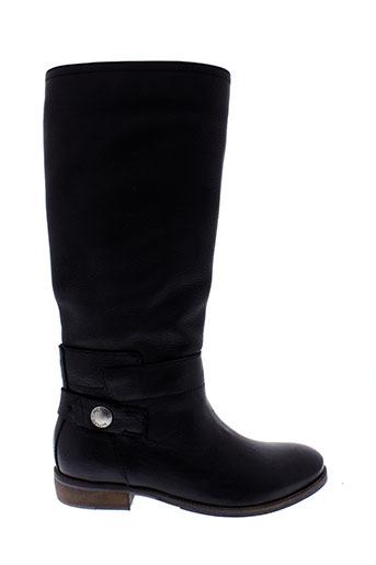 tommy et hilfiger bottes femme de couleur noir