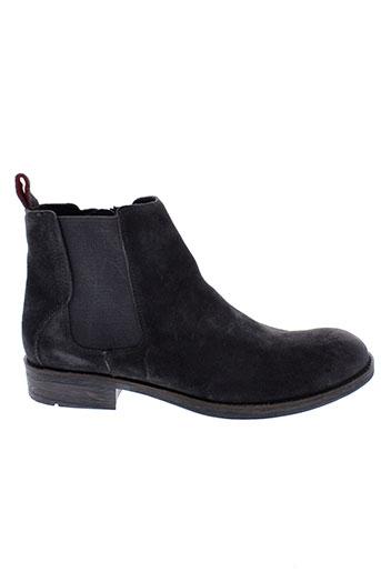 tommy et hilfiger boots homme de couleur gris