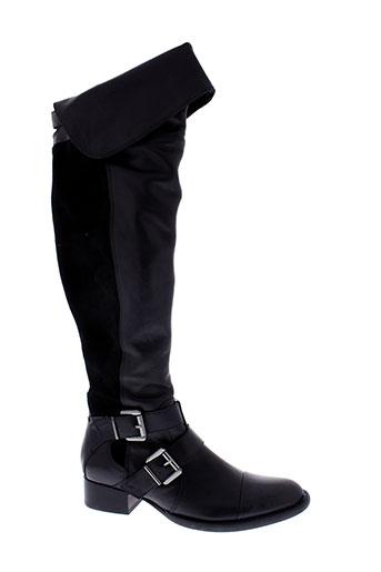 mam et zelle bottes femme de couleur noir
