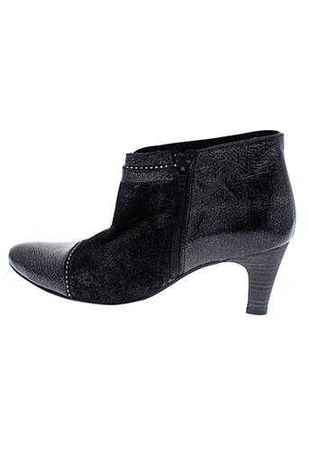un tour en ville chaussures fille de couleur noir