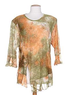 Produit-T-shirts / Tops-Femme-PIMENT ROUGE