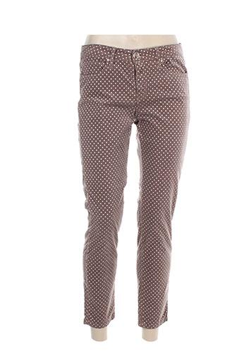 islow pantalons femme de couleur rose