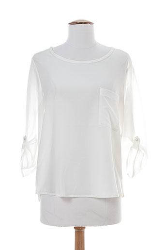faruk chemises femme de couleur blanc
