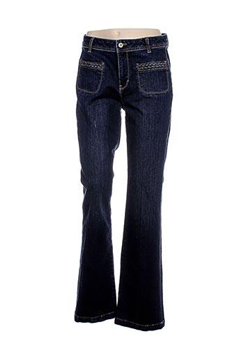 imitz jeans femme de couleur bleu