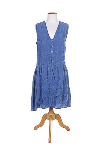 mamouchka robes femme de couleur bleu