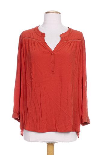 mamouchka chemises femme de couleur orange