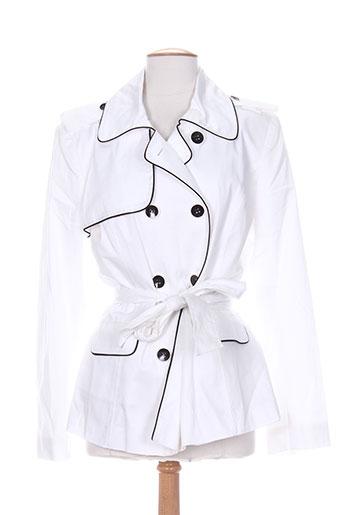 femmes je vous aime vestes femme de couleur blanc