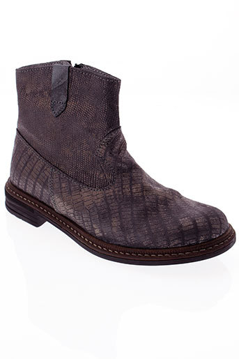 little et mary boots fille de couleur gris