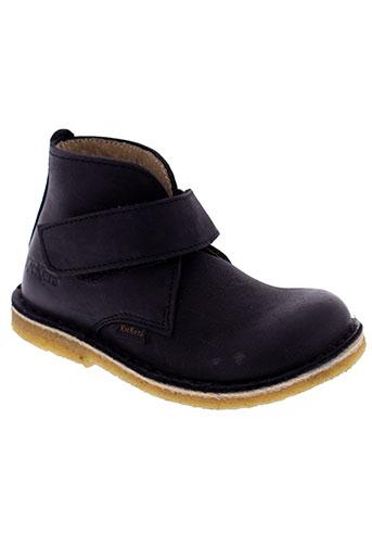 kickers boots garcon de couleur noir