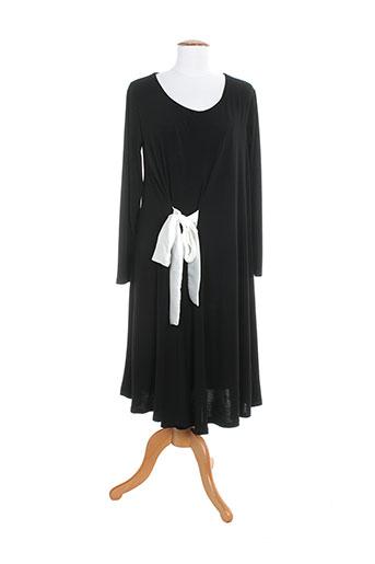 sophia et curvy robes et longues femme de couleur noir