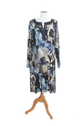 barandi robes femme de couleur bleu