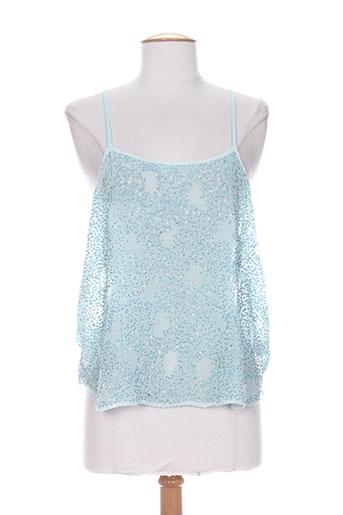 charlie joe chemises femme de couleur bleu
