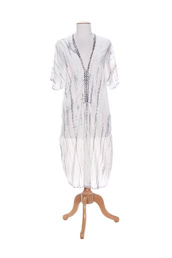 charlie joe robes femme de couleur gris