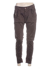 Pantalon 7/8 marron MANILA GRACE pour femme seconde vue