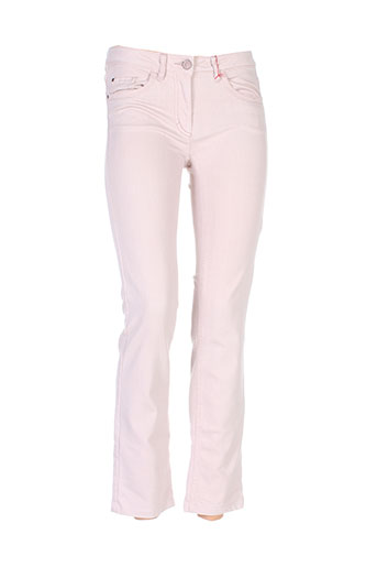luisa cerano pantalons femme de couleur rose