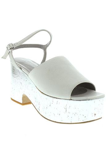 strategia chaussures femme de couleur blanc